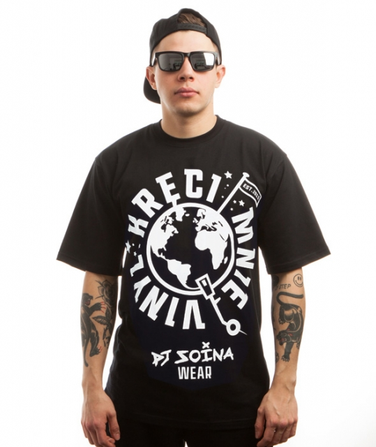 Kręci Mnie Vinyl koszulka